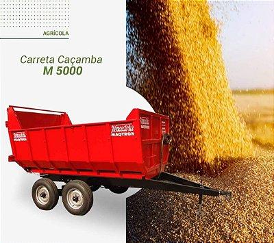 Carreta Caçamba M-5000 - Maqtron