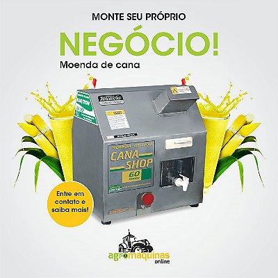 Moenda CANA SHOP 200 Rolos em Inox