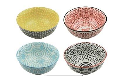 Conjunto de Bowl Colorido