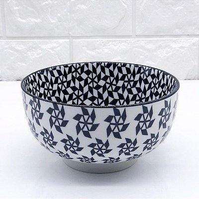 Bowl Julia Preto e Branco