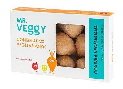 Coxinha Vegetariana Caixinha de 360g com 10 unidades