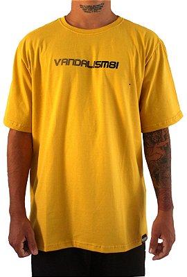 Camisa Masculina Vandalism81 Fast Mustard