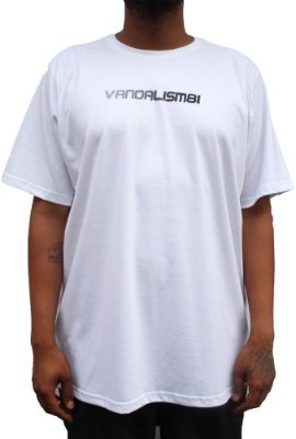 Camisa Masculina Vandalism81 Fast White