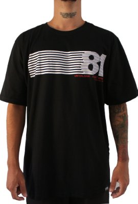 Camisa Masculina Vandalism81 F81 Black