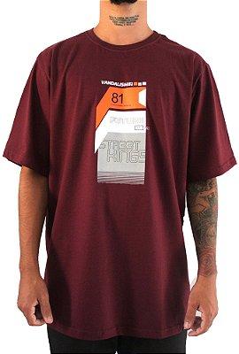 Camisa Masculina Vandalism81 Eigthyone Wine