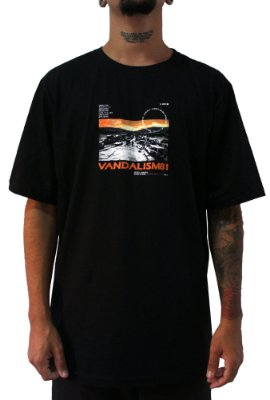 Camisa Masculina Vandalism81 ELI Black