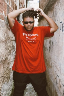 Camisa Masculina Vandalism81 Rio ZN Vermelha
