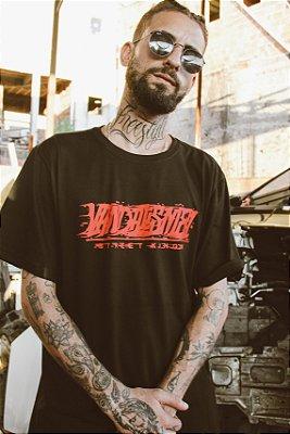 Camiseta Blood Preta