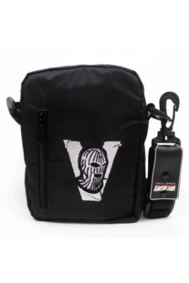 SHOULDER BAG BANDIT MASK BLACK