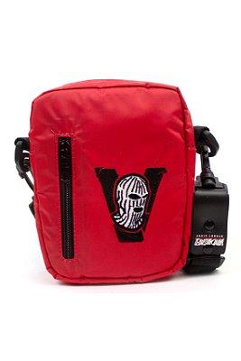SHOULDER BAG BANDIT MASK RED