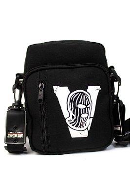 SHOULDER BAG BANDIT MASK BLACK 3.0