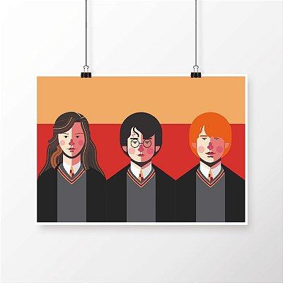 [poster] Os 3 Encrenqueiros - Harry Potter