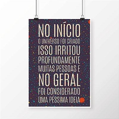 [poster] Criação do Universo - Guia do Mochileiro