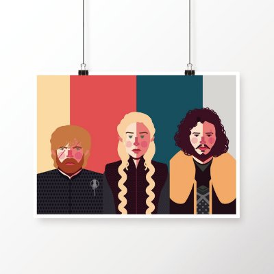 [poster] Tríade - Game of Thrones