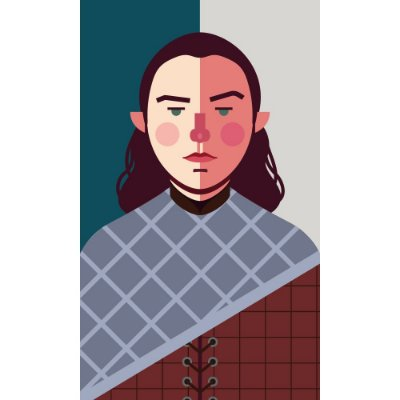 [ímã] Arya Stark - Game of Thrones