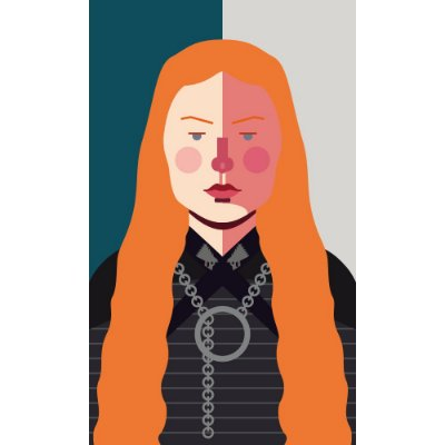 [ímã] Sansa Stark - Game of Thrones