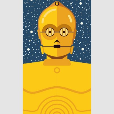 [ímã] C-3PO - Star Wars