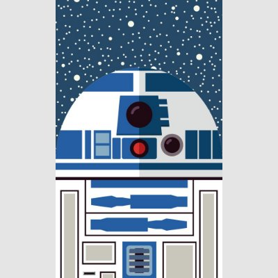 [ímã] R2-D2 - Star Wars