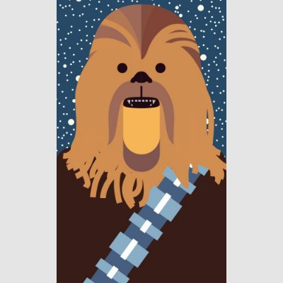 [ímã] Chewbacca - Star Wars