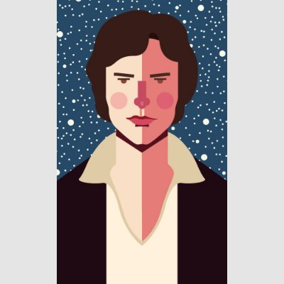 [ímã] Han Solo - Star Wars
