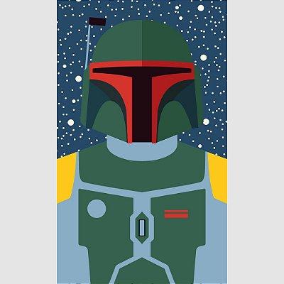 [ímã] Boba Fett - Star Wars