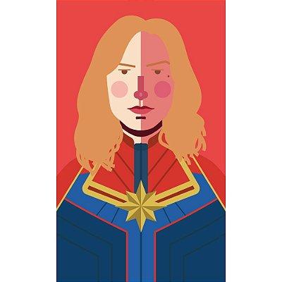 [ímã] Capitã Marvel - Vingadores