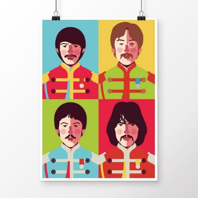 [poster] Sgt. Pepper's - Beatles