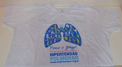 Camiseta Perca o Fôlego pela Hipertensão