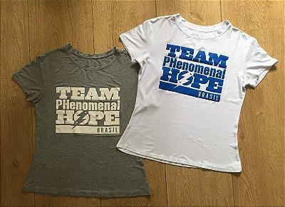 Camiseta Team Phenomenal Hope Brasil