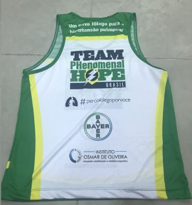 Regata Running - Uniforme Team PH Brasil - Personalizada - Masculina