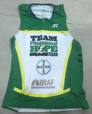 Top Triathlon Sem Manga - Uniforme Team PH Brasil - Personalizado - Masculino