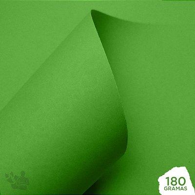 Papel Color Pop - Mimo - Verde Salada - 180g - 30,5x30,5cm