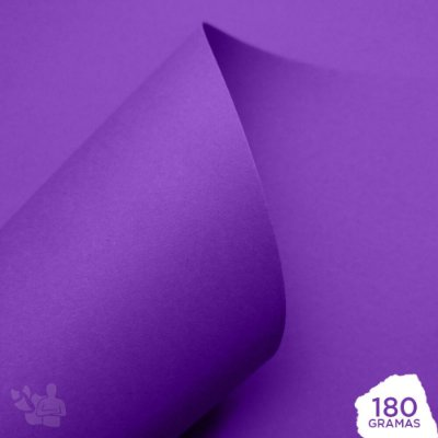 Papel Color Pop - Mimo - Roxo Mirtilo - 180g - 30,5x30,5cm