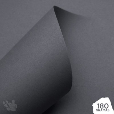 Papel Color Pop - Mimo - Cinza Lua - 180g - 30,5x30,5cm