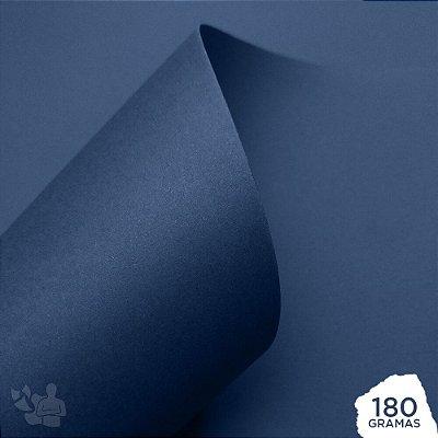 Papel Color Pop - Mimo - Azul Marinho - 180g - 30,5x30,5cm