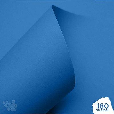 Papel Color Pop - Mimo - Azul Céu - 180g - 30,5x30,5cm