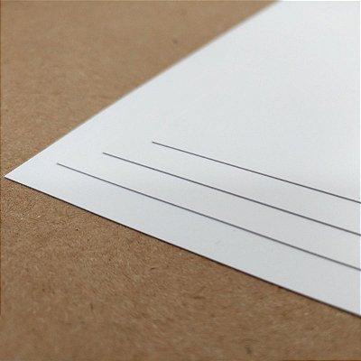 PVC Branco - 300 Micra - Laser - SRA3 - 330x480mm
