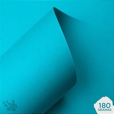 Papel Color Plus - Santorini - Azul Bebê - 180g - A4 - 210x297mm