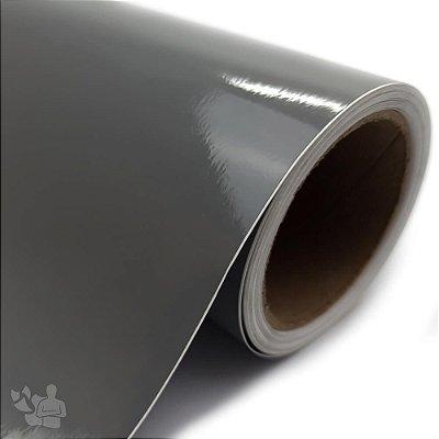 Vinil Adesivo - Recorte - Bobina - 30,5cm x 5m - Cinza Escuro