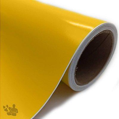 Vinil Adesivo - Recorte - Bobina - 30,5cm x 5m - Amarelo Médio