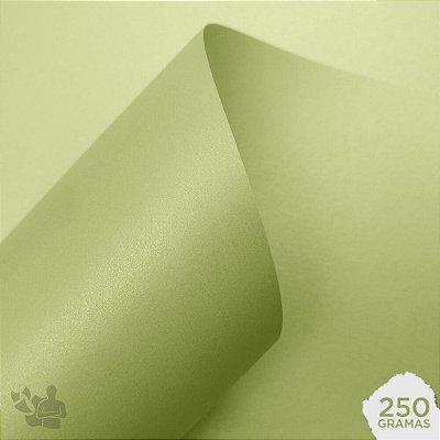 Papel Color Pop Luminous - Mimo - Verde Pistache - 250g - 30,5x30,5cm