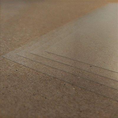Poliéster Transparente - 100 Micra - Laser - Alto Desempenho - A3 - 297x420mm