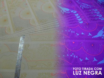 Papel para Ingresso - 6 por Folha - Com Fita Holográfica - A4 - 210x297mm