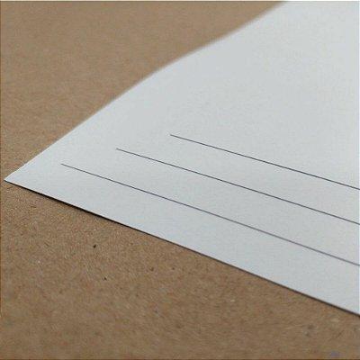 Papel Fotográfico Fosco/Matte - 190g - Jato de Tinta - A4 - 210x297mm