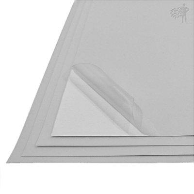 Vinil Adesivo Transparente Opaco - Jato de Tinta - A4 - 210x297mm