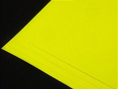 Papel Adesivo Fluorescente - A4 - 210x297mm