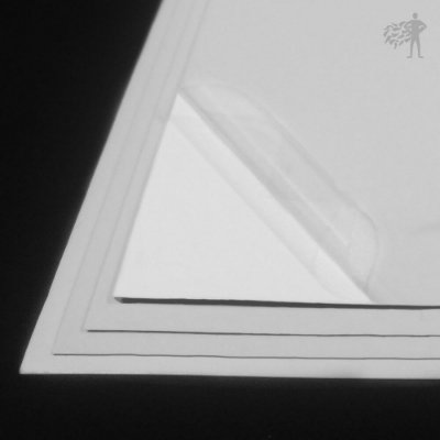 BOPP Adesivo Transparente - Laser - Alto Desempenho - SRA3 - 330x480mm