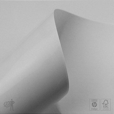 Papel Adesivo Branco Brilho - Raflabrite - Laser - SRA3 - 320x450mm