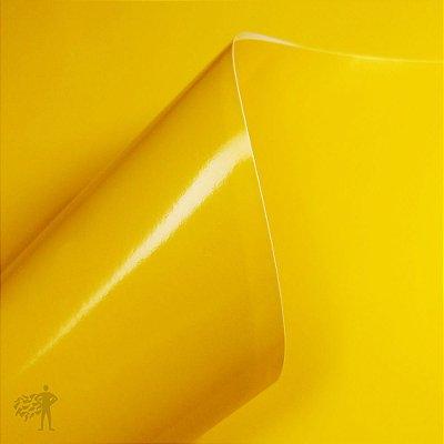 Vinil Adesivo - Recorte - 200x300mm - 10 Folhas - Amarelo Canário