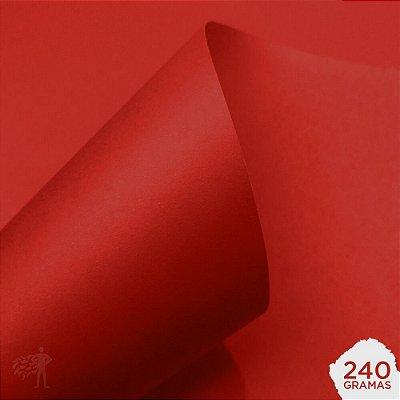 Papel Color Plus - Tóquio - Vermelho - 240g - A4 - 210x297mm